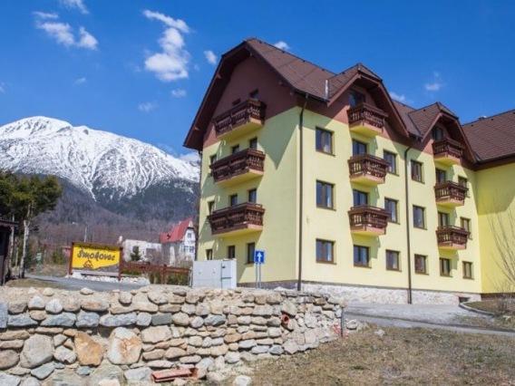 The luxury apartments Smokovec